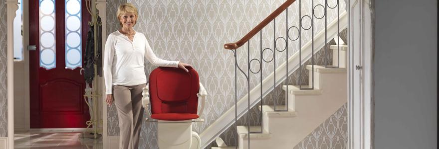 Monte-escalier droit Stannah